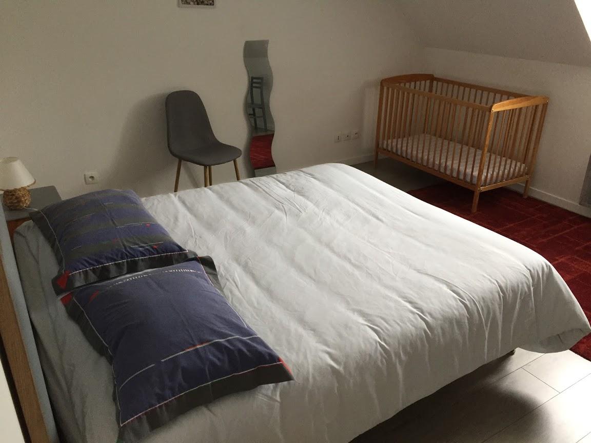 CH parentale avec lit bébé