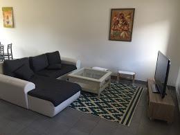 Canapé devant TV