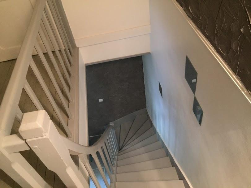 Escalier d'accès aux chambres Loches