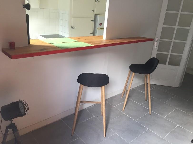 Bar côté salon