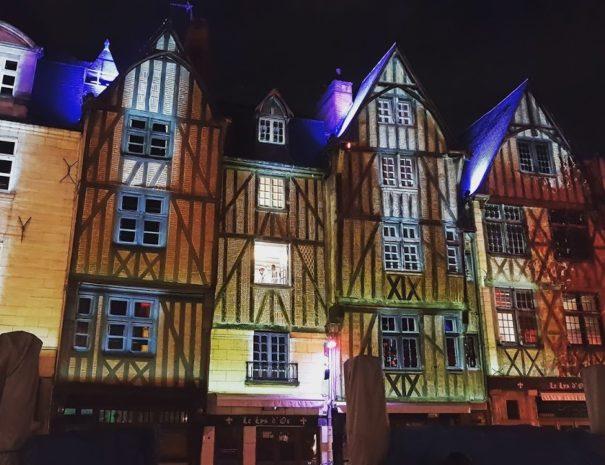 Vieux Tours et ses maisons à colombage